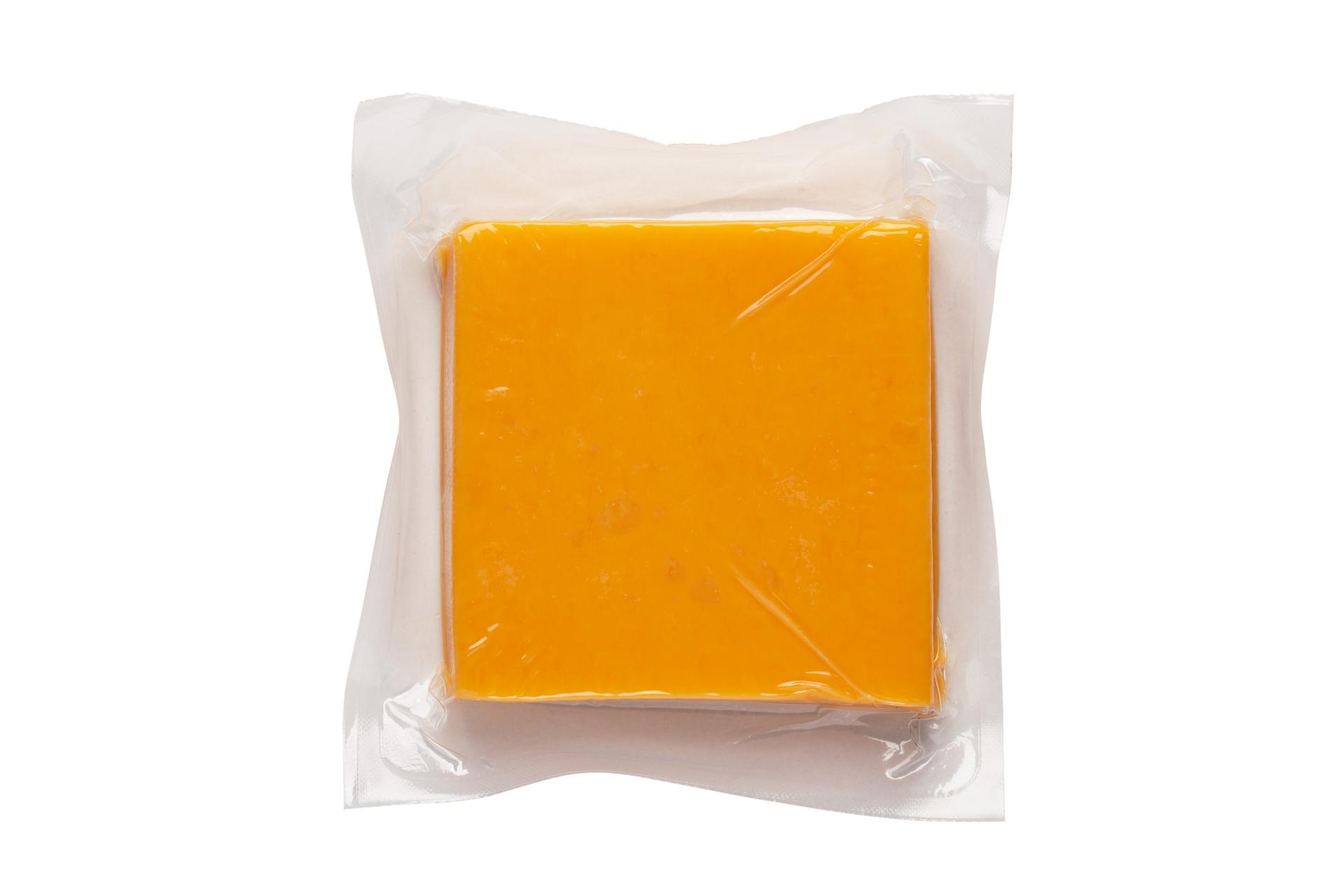 kaas in verpakking